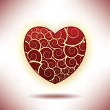 A valentine's day background Stock Photography