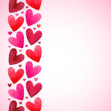 Valentines Day background with space for text Royalty Free Stock Photography