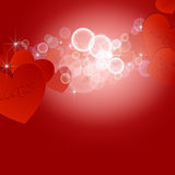 Valentines day background 02 Stock Photography