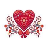 Valentines Day background. Wedding card Royalty Free Stock Photo
