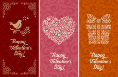 Valentines day backgrounds Stock Image