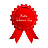 Valentines Day badge Royalty Free Stock Photo