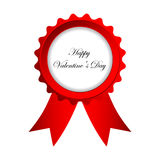 Valentines Day badge Royalty Free Stock Image
