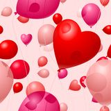 Valentines Day Balloons Royalty Free Stock Photo