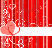 Valentines Day banner  Stock Photography