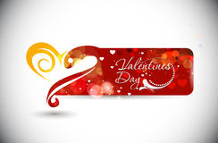 Valentines day banner Stock Photos