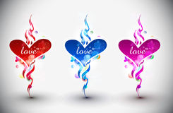 Valentines day banner Royalty Free Stock Images