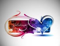 Valentines day banner Stock Photos