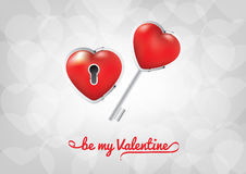 Valentines Day - Be my Valentine Royalty Free Stock Images