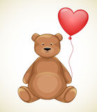 Valentines day bear Royalty Free Stock Photos