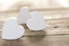 Valentines Day. Beckground with hearts Royalty Free Stock Photos