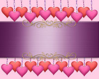 Valentines Day Border Background Royalty Free Stock Photo
