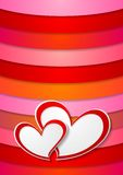 Valentines Day bright abstract background Stock Images