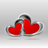 Valentines Day bright colorful background Royalty Free Stock Image