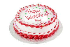 Valentines day cake Royalty Free Stock Photo