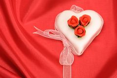 Valentines Day Cake Royalty Free Stock Photography