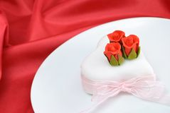 Valentines Day Cake Stock Photo