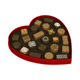 Valentines Day Candy Box Royalty Free Stock Image