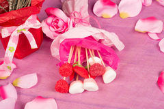Valentines Day candy Stock Images