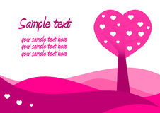 Valentines Day card Royalty Free Stock Photo