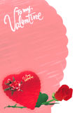 Valentines Day Card 2 Stock Photography