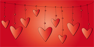 Valentines day card Royalty Free Stock Photography