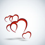 Valentines day card background Royalty Free Stock Photos