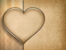 Valentines Day card background Stock Photography