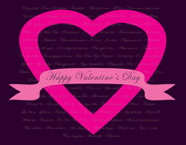 Valentines Day card concept Royalty Free Stock Images