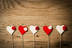 Valentines day card concept Royalty Free Stock Photo