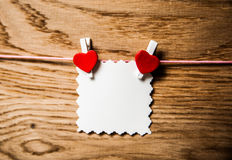 Valentines day card concept Stock Images