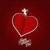 Valentines day card happy holiday background Stock Photo