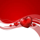 Valentines Day Card. Illustration of a Valentines Day Card Stock Photography