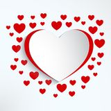 Valentines day card Royalty Free Stock Photos