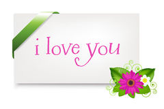 Valentines Day Card. Vector Stock Photos