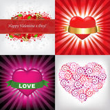 Valentines Day Card. Vector Royalty Free Stock Images