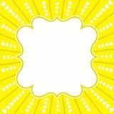 Shinny Sun Hearts Greeting Card Stock Image