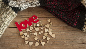 Valentines day cards. Royalty Free Stock Photos