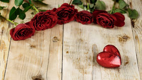 Valentines Day Celebration. Romantic Valentines Day Celebration with roses stock photography