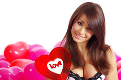 The Valentines day celebrities Royalty Free Stock Images