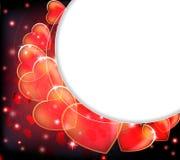 Valentines Day claret background. stock illustration