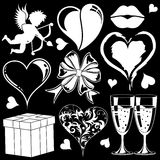 Valentines Day collection Stock Images
