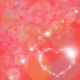 Valentines day, colorful background Royalty Free Stock Photo