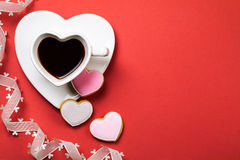 Valentines Day Composition Royalty Free Stock Images