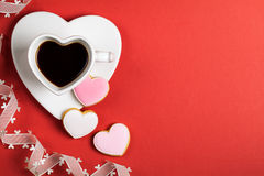 Valentines Day Composition Royalty Free Stock Image