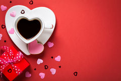Valentines Day Composition Stock Photography