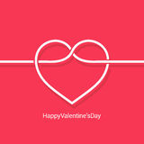 Valentines day concept design vector background Royalty Free Stock Photo
