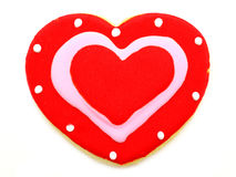 Valentines Day cookie Stock Photography