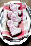 Valentine´s Day cookies Royalty Free Stock Photos