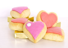 Valentines day cookies Stock Photo